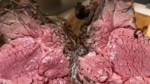 Too rare? Just right? Burnt? And before I read all the whining about blood can someone here Google myoglobin? Please and thank you  Video courtesy of  -  . . . . . .                       ...