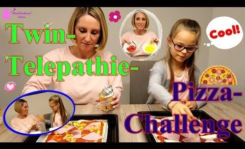 Twin - Telepathie - Pizza - Challenge | Hmmm! Lecker Pizza!