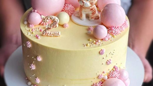 Two year birthday cake   What do you think about decoration and that lovely cat? - Let me know below! Start to bake with ...