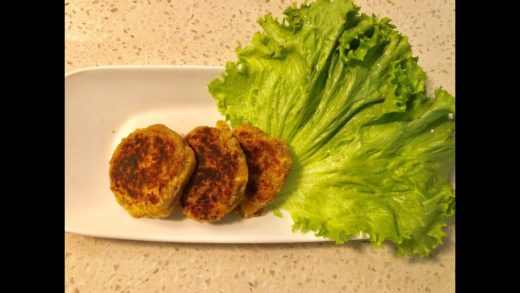 Vegan Chickpea Patties - With Sweet potato & Flax seed Meal - Healthy Lunchbox Snack For Kids