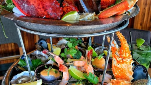WIN a $500 VIP CHEF'S TASTING MENU at  by Top Chef Master  FOLLOW  &  and TAG FRIENDS to win!  Here's their SEAFOOD TOWER which will be included in the tasting menu!...