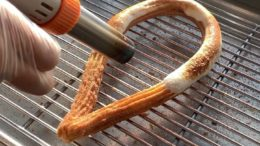 Watching this Toasted Marshmallow Loop Churro being torched on loop  We're open til MIDNIGHT tonight   …