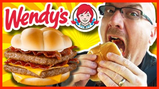 Wendy's BACONATOR® Review and Drive Thru Test (LOTS OF BACON!!!)
