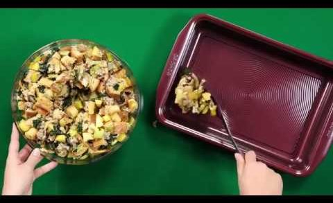 Wild Mushroom, Sausage, Apple, and Kale Stuffing | Circulon Gourmet Cookware