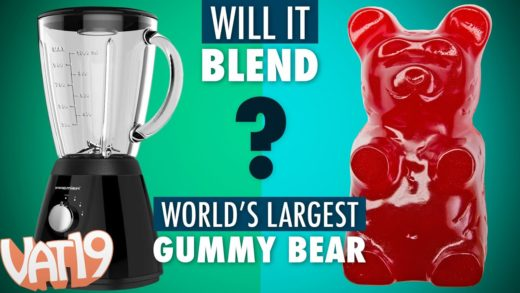 Will It Blend? - World's Largest Gummy Bear (and other Burning Questions)