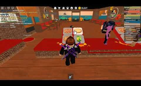 Work At A Pizza Place Roblox Video