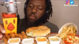 cr;   _ Food: Burger King _ All hate will be deleted (this video is for ASMR purposes) –                               _ This video belongs to the person tagged at the beginning of my caption _ 246k…