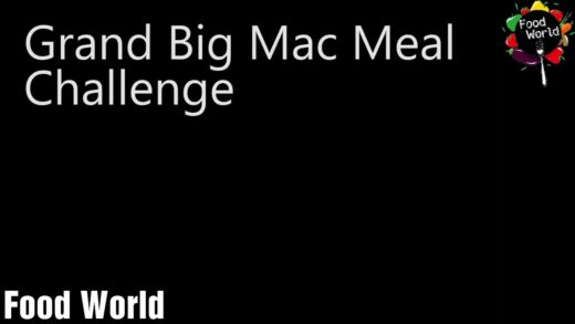 crazy guy eats Grand big mac meal under one minute!