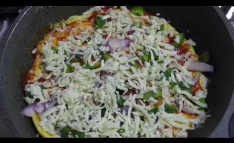 omelette pizza recipe | Healthy pizza recipe | 50 % less calories | Must try