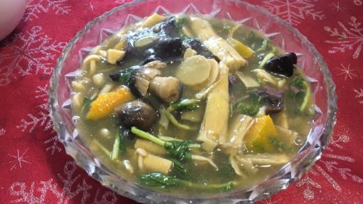 ອາຫານລາວLao Food How To Make bamboo soup Home Made By Kaysone