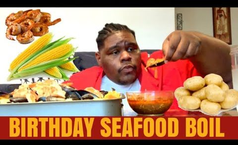 13. BIRTHDAY SEAFOOD BOIL W/ BLOVES SAUCE | KING OF R&B DISCUSSION