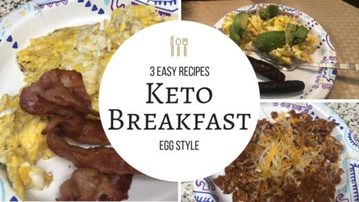 3 Easy Egg Recipes:KOOKING KETO