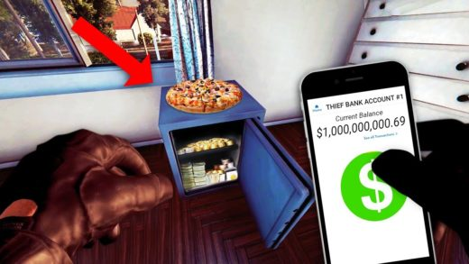 A Professional Thief plays Thief Simulator BUT it's also Pizza Time
