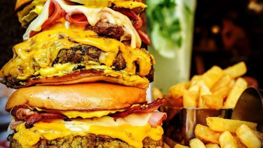 All about the Cuban themed burger! : Tag A Friend That Would Dig This!  Follow   Follow   Follow     &  All rights and credit reserved to the respective owner(s)  Post your best food pics with           u                    ...