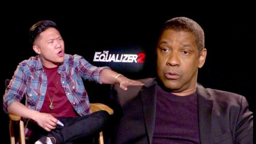 Arguing with Denzel Washington - Pineapple on PIZZA?!