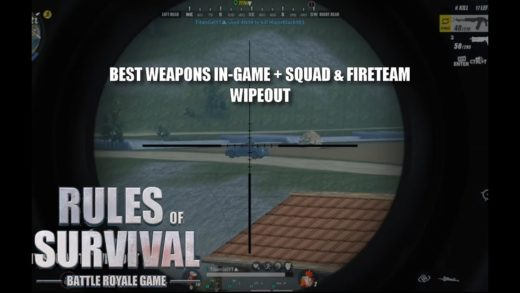 BEST WEAPONS IN GAME + SQUAD & FIRETEAM WIPEOUTS (RoS Battle Royal #15)