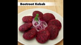 FOODporn.pl Beetroot Kebab