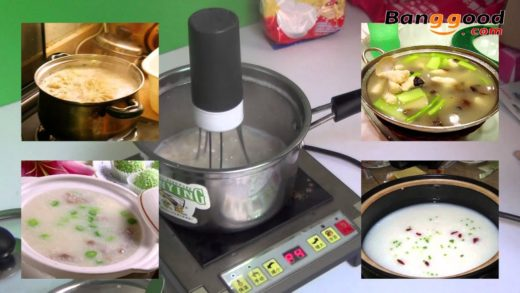 Best Automatic Hands-Free Sauce Electronic Blender for Kitchen - Banggood.com
