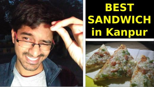 Best Sandwiches in Kanpur | Street Food Kanpur | Indian Vlogger Rupesh | Engineer Selling Sandwiches