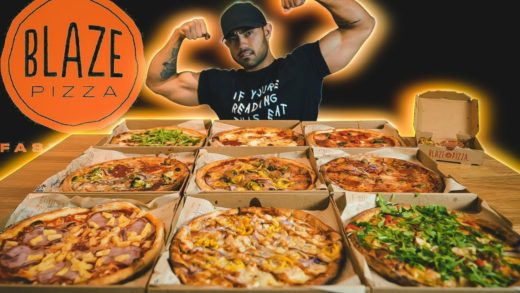 Blaze Pizza Full Menu Challenge