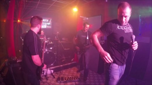 "Blood Garden - ""Le Sentier"" - Live chez Pizza Rock"