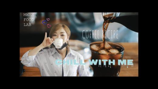 COFFEE - AFFOGATO, OATMILK LATTE & COLD BREW | CHILL WITH ME | BY MWAH FOOD LAB