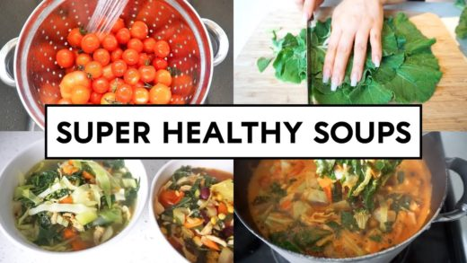 COOK WITH ME - 2 SUPER HEALTHY SOUPS
