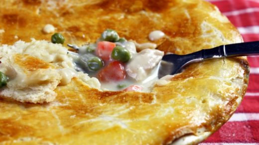 Chicken Pot Pie - Healthy, Easy to Make from Scratch