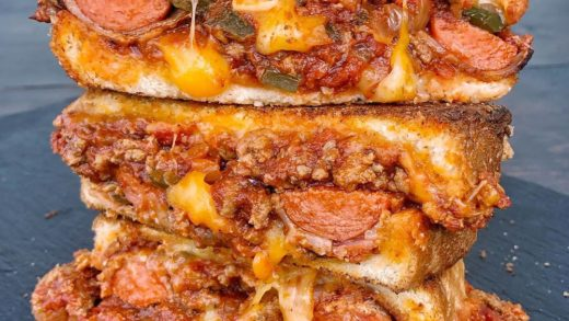 Chili Dog Grilled Cheese. There are so many ways to use chili. What's your favorite?...