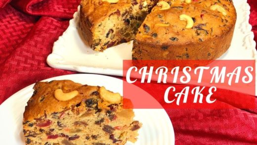 Christmas cake recipe- Fruit Cake/ Plum Cake
