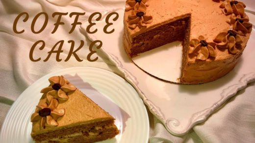 Coffee Cake- Easy coffee cake recipe