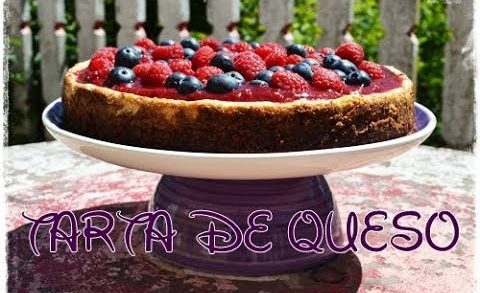 Como hacer tarta de queso ~ How to make cheese cake