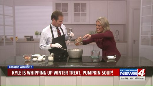 Cooking with Kyle: Pumpkin soup