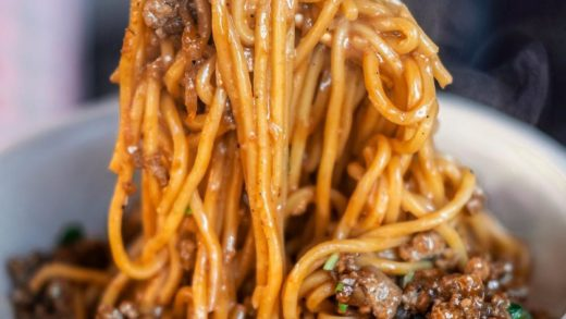 Dan Dan Noodles  via  . . . .                           ...