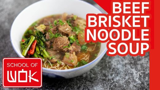 Delicious Chinese Beef Brisket Noodle Soup Recipe - Hong Kong Style!