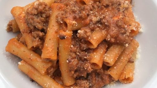 Digging in a Sunday ragù! . . . . ...