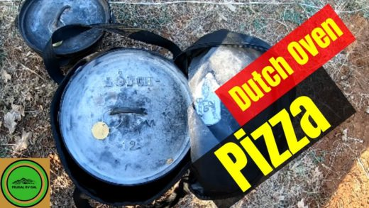 Dutch Oven Pizza | Cast Iron Wednesday | Chicken Pizza Sandwich