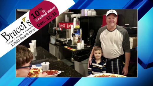 EAT a PIZZA - SAVE a LIFE at Brucci's Pizza