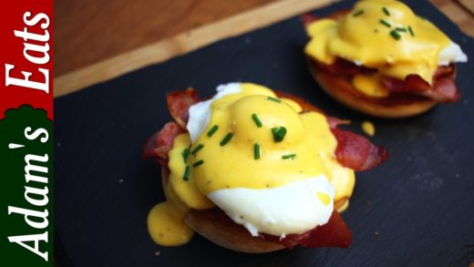 Eggs Benedict with crispy smoked bacon | Christmas recipes
