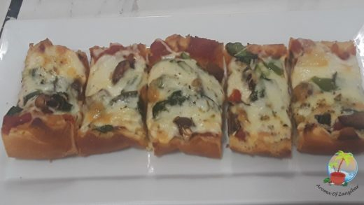 FRENCH BREAD PIZZA - KISWAHILI