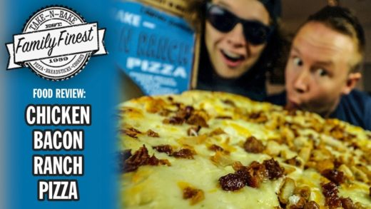Family Finest's Chicken Bacon Ranch Pizza Food Review