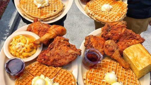 Fried Chicken, Waffles, Biscuit, Mac N Cheese § Corn Bread || Roscoe's Chicken & Waffles || Hollywood, CA ⠀⠀⠀⠀ ⠀⠀⠀⠀⠀ ⠀⠀⠀⠀ ⠀⠀⠀⠀⠀ Photo Credit :  ⠀⠀⠀⠀ ⠀⠀⠀⠀⠀ ⠀⠀⠀⠀ ⠀⠀⠀⠀⠀ ⠀⠀⠀⠀ ⠀⠀⠀⠀⠀ There's probably not a meal more comforting than Roscoe's Chicken and Waffles. ...