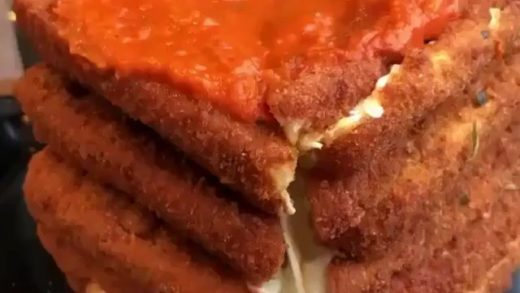 Fried Mozzarella  ......Follow    ...