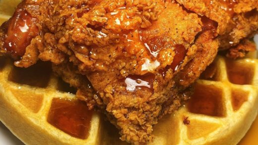 Fried chicken & Waffles!! - :  Follow  for more delicious videos! . . .                              ...