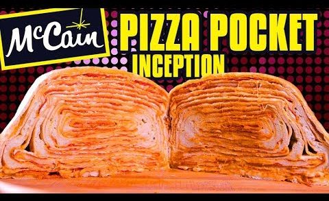 Giant Pizza Pocket  - Epic Meal Time