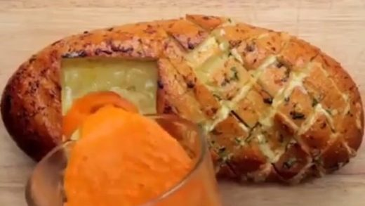 Grilled Cheese Tomato Soup Hedgehog Bread and Pizza Braid Bread Recipes!  vc:  Love Food? Follow us:  Tag a Bread Lover!...