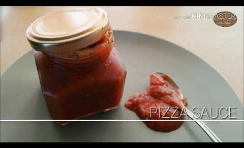 Homemade Pizza Sauce | Pizza Sauce recipe by Flavour&Garnish