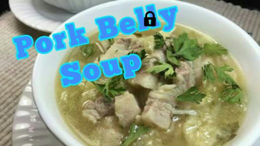"How to cook ""Pork belly soup"" / Recepie"