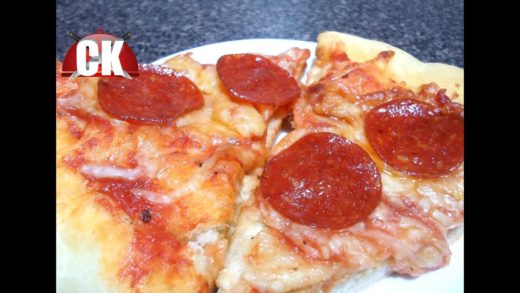 How to make Pepperoni Pizza - Easy Cooking!