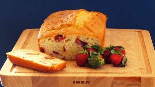 How to make Strawberry Pound Cake - No Butter Pound Cake - Easy Cake Recipe